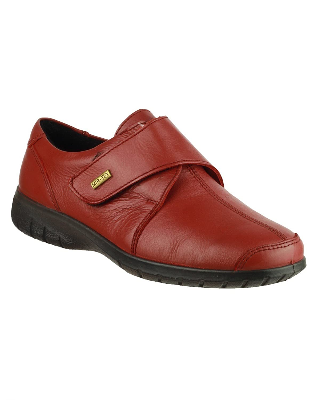 Cotswold Mujer Cranham Impermeable Zapatos Zapatillas Velcro 42 EU Red