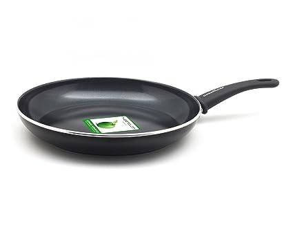 GreenChef cc000543 - 001 sartén, Aluminio, Negro, 30 cm: Amazon.es ...