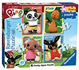 Ravensburger 6869 My First Puzzle Bing Bunny Jigsaw Puzzles - 2, 3, 4 and 5 Pieces