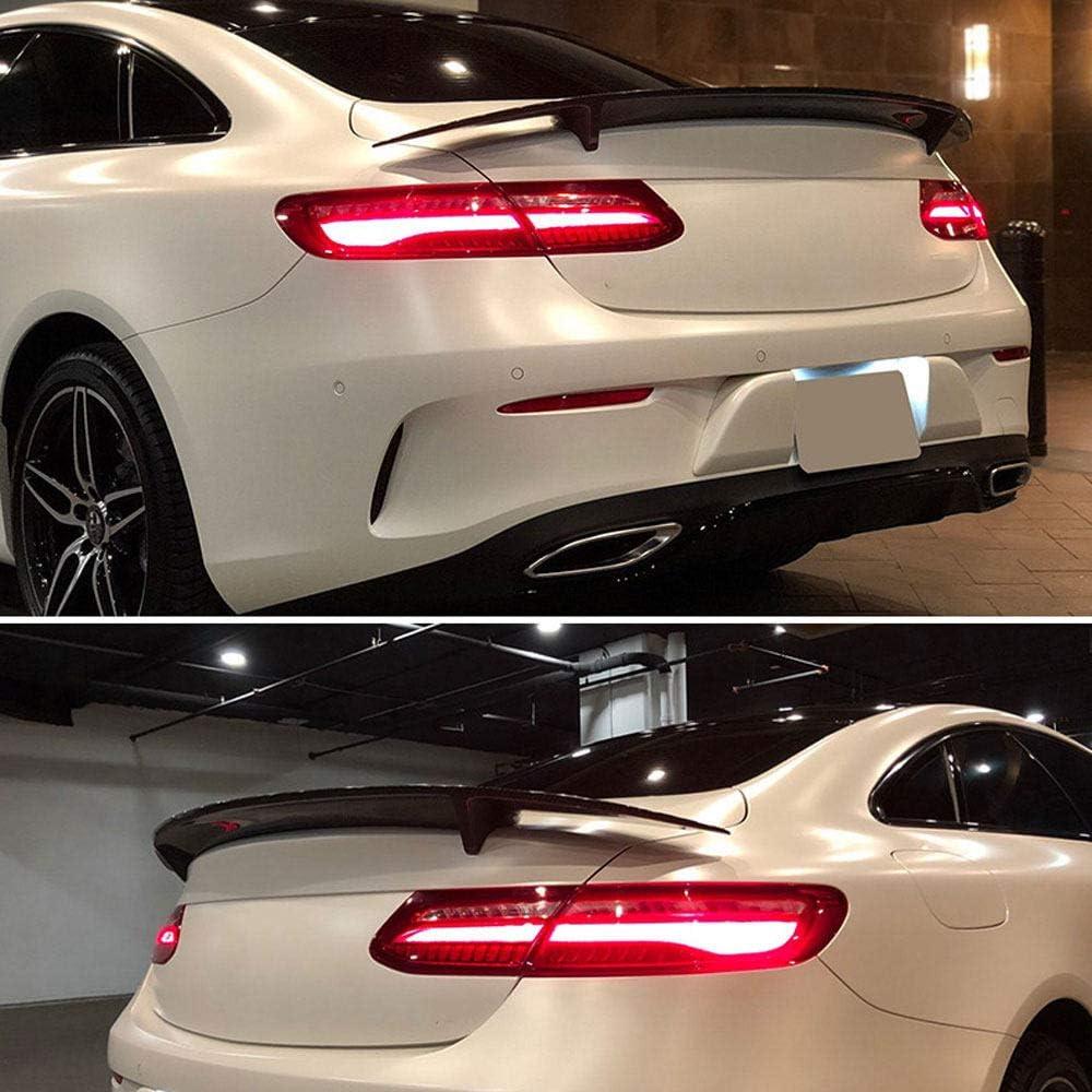 Heckspoiler,AMG OTQEALY Kompatibel Mit//Ersatz F/ür Auto Spoiler Trim F/ür Mercedes-Benz e-Klasse w238 Doppelt/ür Ge/ändert Amg Kohlefaser Heckfl/ügel