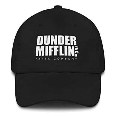 5563b3d0 Amazon.com: NBC The Office Dunder Mifflin Embroidered Hat: Clothing