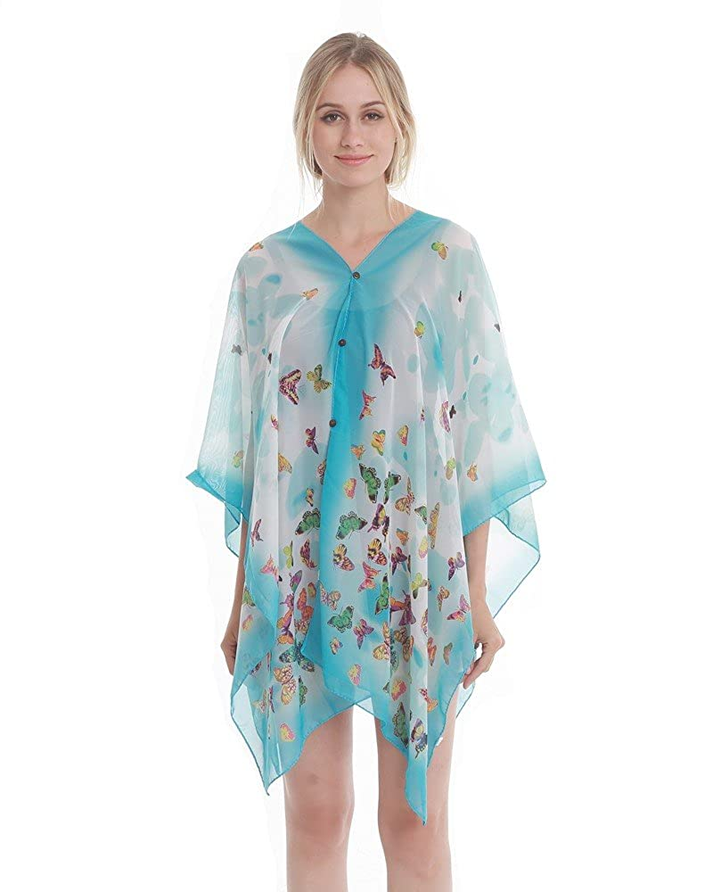 51a055e43fd95 MATERIAL - Made of high quality cotton and linen, the cover up is silky  soft and prefect for the summer wear (Note: The bottons can't be unlocked)  FASHION ...
