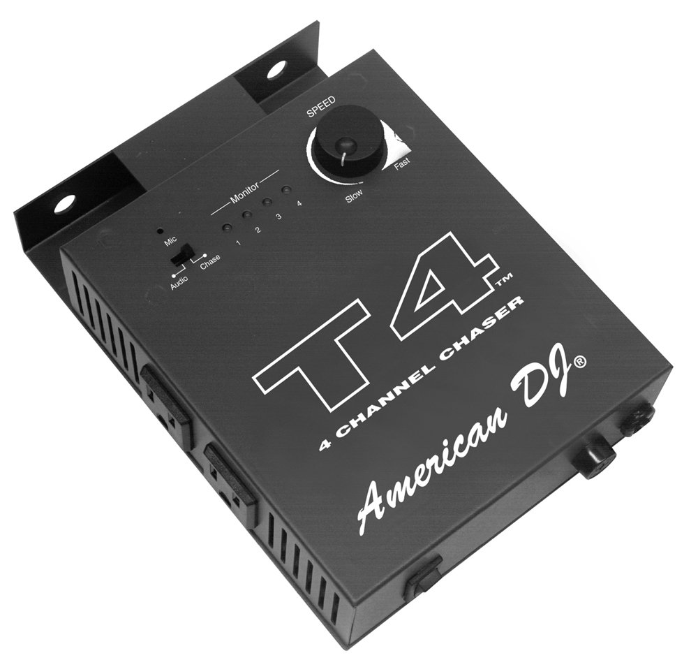Amazon.com: Elation T4 Four-Channel Chase Controller: Musical ...