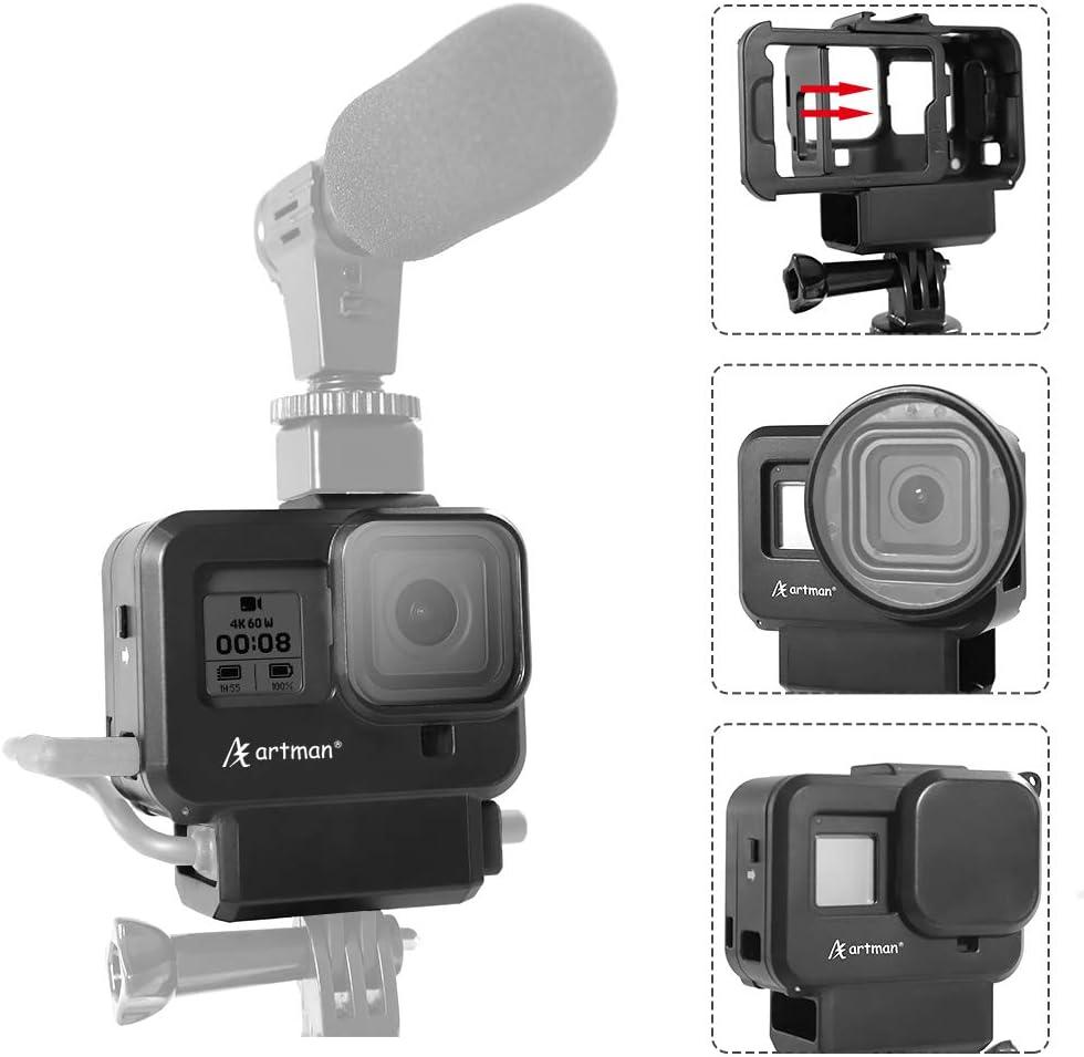 Caja protectora GoPro Hero 8 Black adaptador de filtro etc