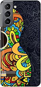 Case Box Silicone Back Cover With Multi Color Printing for Samsung S21 , 2725619179500
