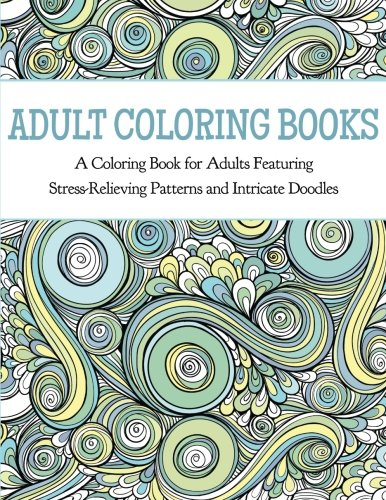Adult Coloring Books Featuring Relieving product image