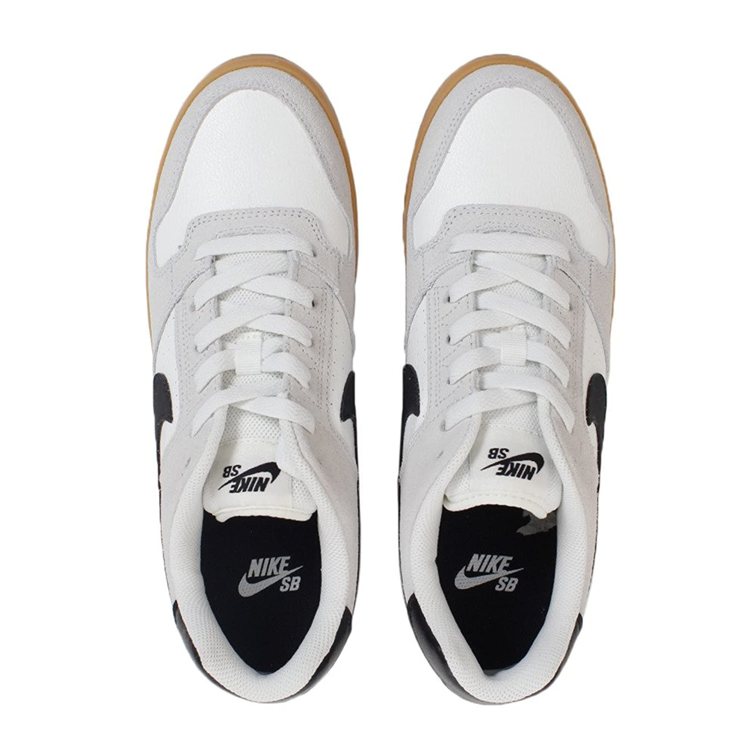 new style 40759 75088 Nike SB Delta Force Vulc, Chaussures de Skateboard Homme, Gris (Summit  White