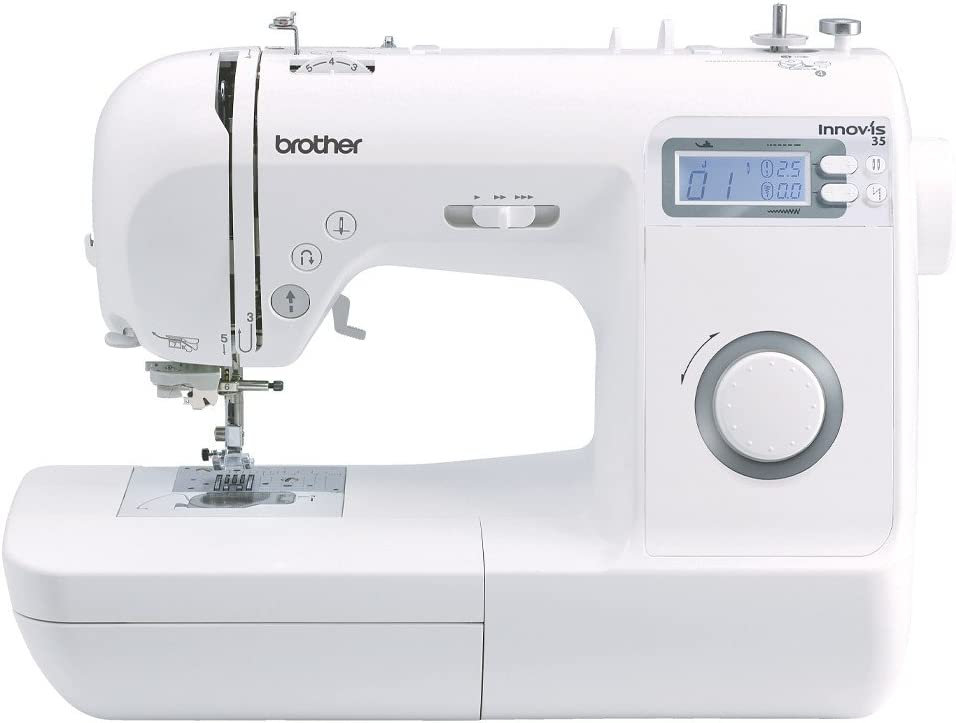 Brother 4977766712675-Maquina de Coser innov-ís 35, Blanco, L ...