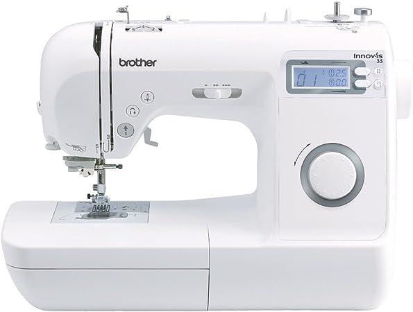 Brother 4977766712675-Maquina de Coser innov-ís 35, Blanco, L ...