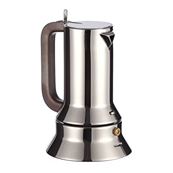 Alessi Espressokocher alessi moka espressokocher 3 tassen richard sapper amazon de