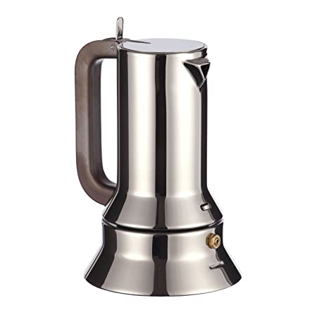 Alessi Espresso Maker Moka Pot 3 Cup By Richard Sapper With 250g Of Coffee