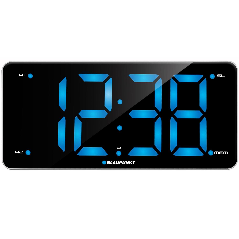 Blaupunkt radio reloj despertador con doble alarma y función ...