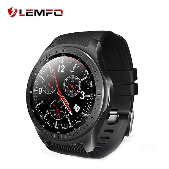 Waroomss Lemfo Smartwatch, Reloj Inteligente para LEMFO LF25 ...