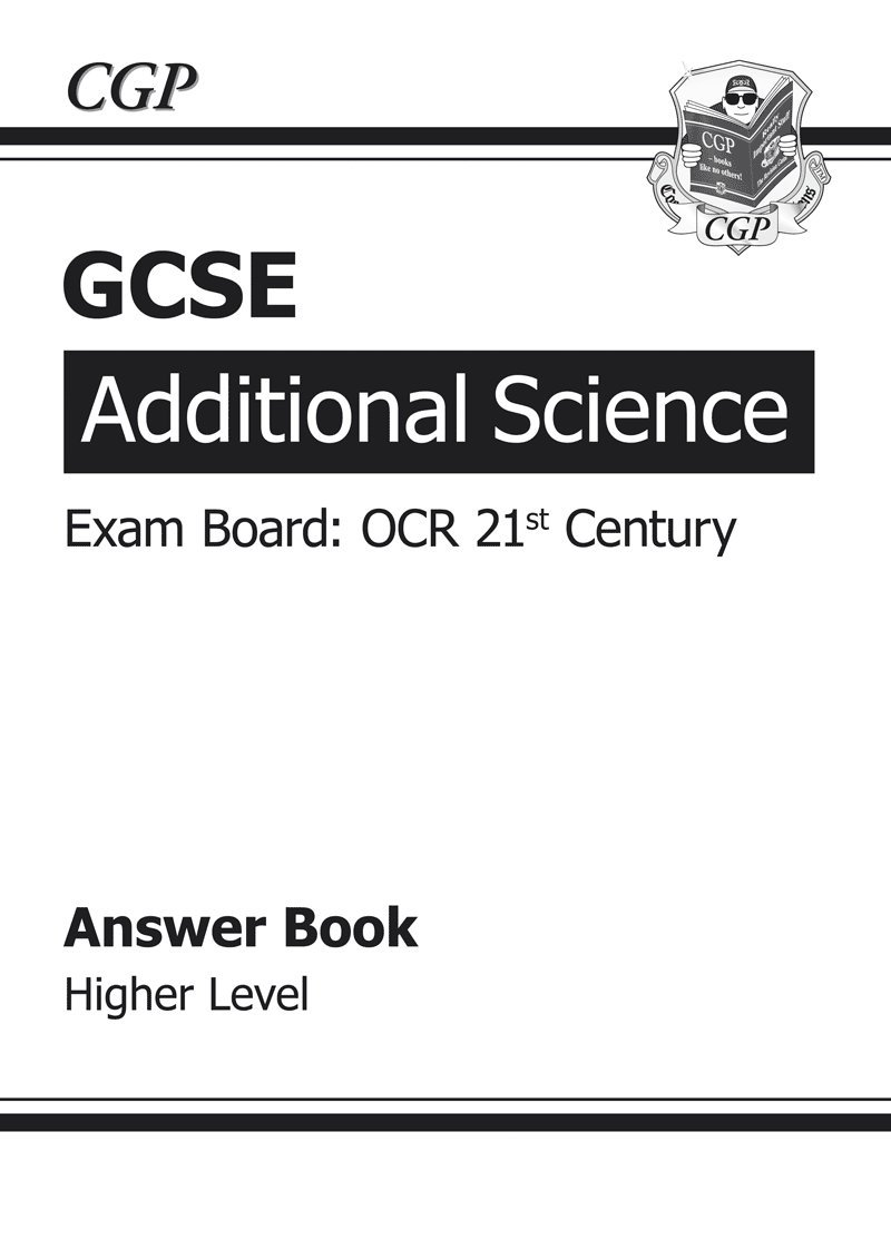 GCSE Additional Science OCR 21st Century Answers (for Workbook ...
