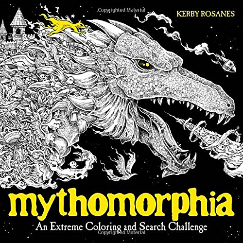 Mythomorphia Extreme Coloring Search Challenge product image
