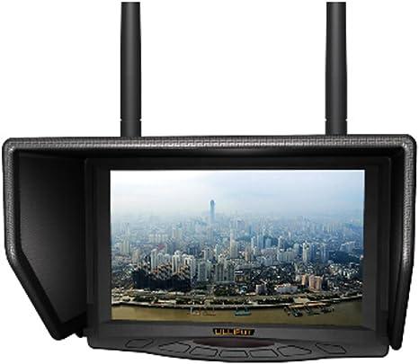 Monitor LCD Lilliput 329 / DW 7 Pulgadas LCD 5.8GHz TFT Widescreen FPV Monitor de Antena Doble para FPV Grande Helicóptero: Amazon.es: Electrónica