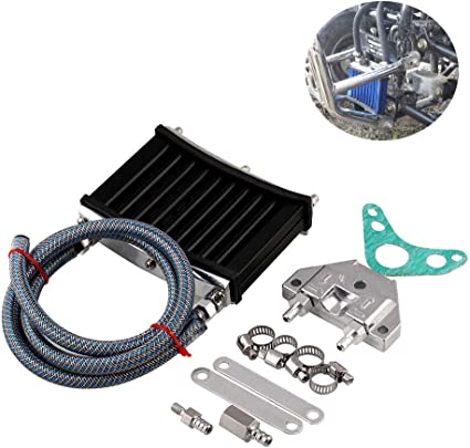 Elegantamazing Kit de radiador de Aceite de Motor de Aluminio para ...