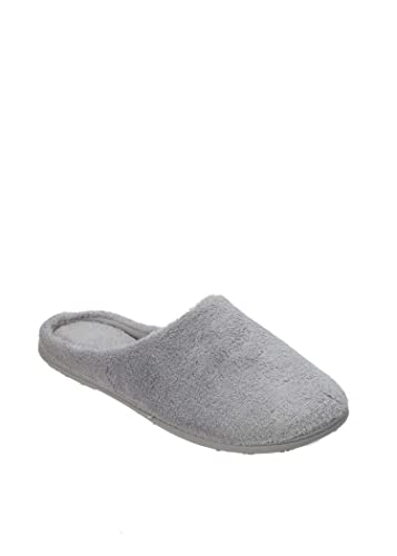 cb44a02ccc11 Dearfoams Sleet Scuff Slippers (Medium)