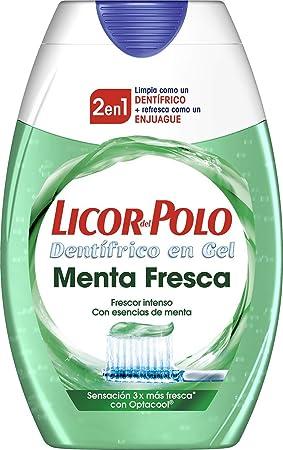 Licor del Polo - Pasta de Dientes 2 en 1 Menta Fresca - 75 ml ...