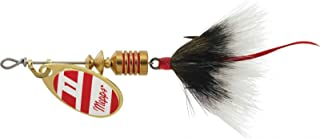 product image for Mepps Aglia Dressed Treble Hook Spinners Red White Grey (1/8 Oz)