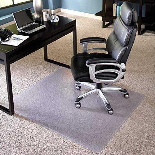 (American Floor MatsChair Mat for Medium Pile Carpet | AnchorBar Cleats | Made in USA | Quick Ship - 45