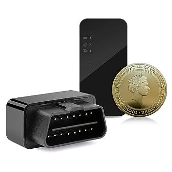 OBD - Dispositivo de rastreo de coche con GPS para coche ...
