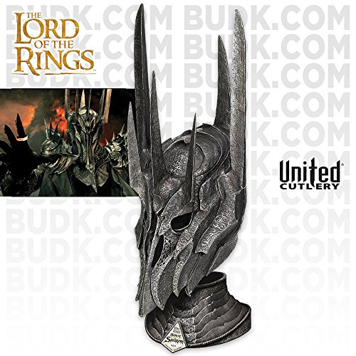 United Cutlery UC2941 Lord of the Rings Helm of Sauron with Stand