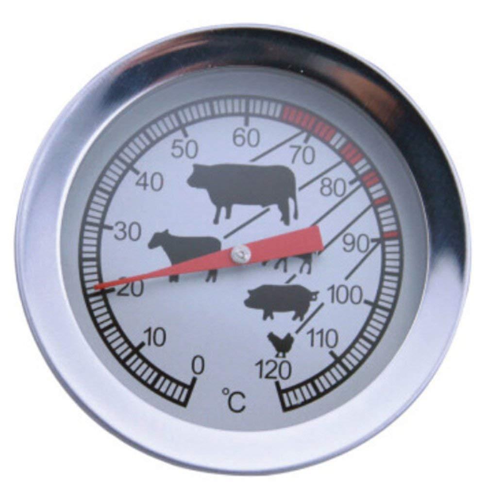 0-120 ℃ Durable Termómetro Horno Alerta Temporizador para Barbacoa ...