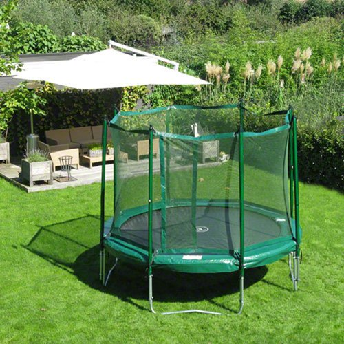 JumpFree 12 Foot Trampoline With Safety Enclosure