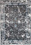 NEW Venice Grey Washed Out Distressed Vintage Retro style Area Rug carpet 8'x10′ Area Rug (actual size is 7'4″x10'6″) Review