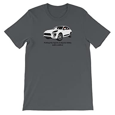 Utility Sports Cars – Porsche Macan Turbo Inspired Unisex T-Shirt