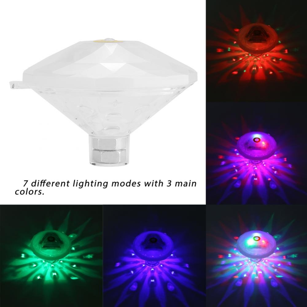 Bombilla LED Sumergible Luz LED Piscina L/ámpara LED para Usar Bajo el Agua Iluminaci/ón de Piscinas LED Luces LED para Acuarios y Estanques