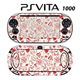 Decorative Video Game Skin Decal Cover Sticker for Sony PlayStation PS Vita (PCH-1000) - Kiss & Love