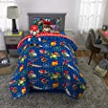Franco Kids Super Soft Comforter with Sheets and Plush Cuddle