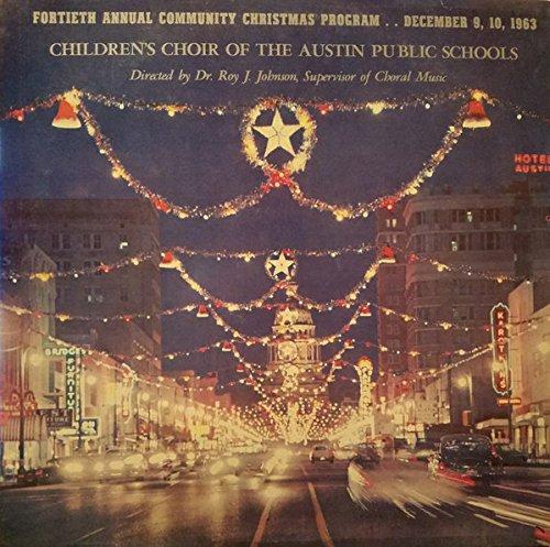 40th Annual Community Christmas Program, Austin, TX - Tx Mall Austin