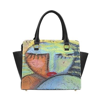 Interestprint Custom Funky Abstract Art Shoulder Bag Handbag Purse ... 8aef5e0055