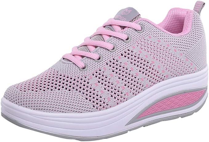 VECDY Zapatos Mujer Zapatos De Aire Libre, Moda Malla Zapatos De ...