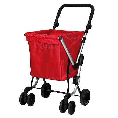 Playmarket We Go - Carro de compra, Tela, Rojo