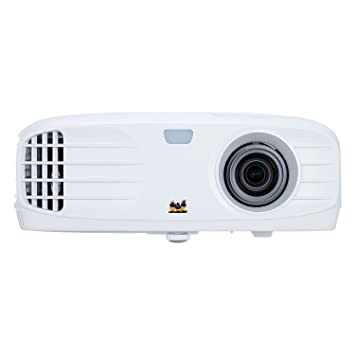 ViewSonic PG705HD Proyector Full HD 1080p (DLP, 1920 x 1080, 4.000 ANSI lumens, 22.000:1, HDMI, 10W), color negro mate