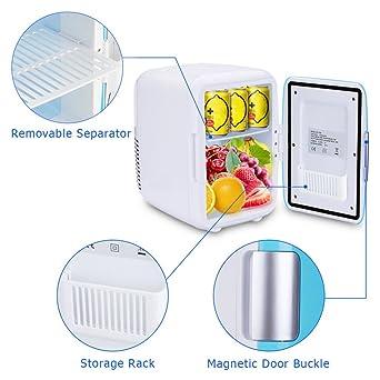 Mini nevera de refrigeración y calentamiento para coche, portátil ...