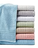 Softee 6 Piece Premium Towel Set, 100% Cotton Zero Twist - Bisque - Hotel Quality, Super Soft and Highly Absorbent