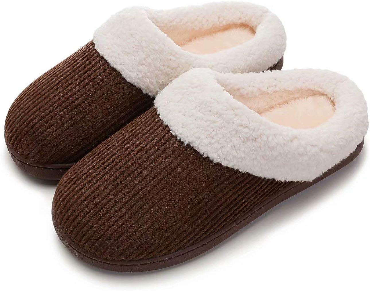Blebeey Women's Slip On Cozy Slippers