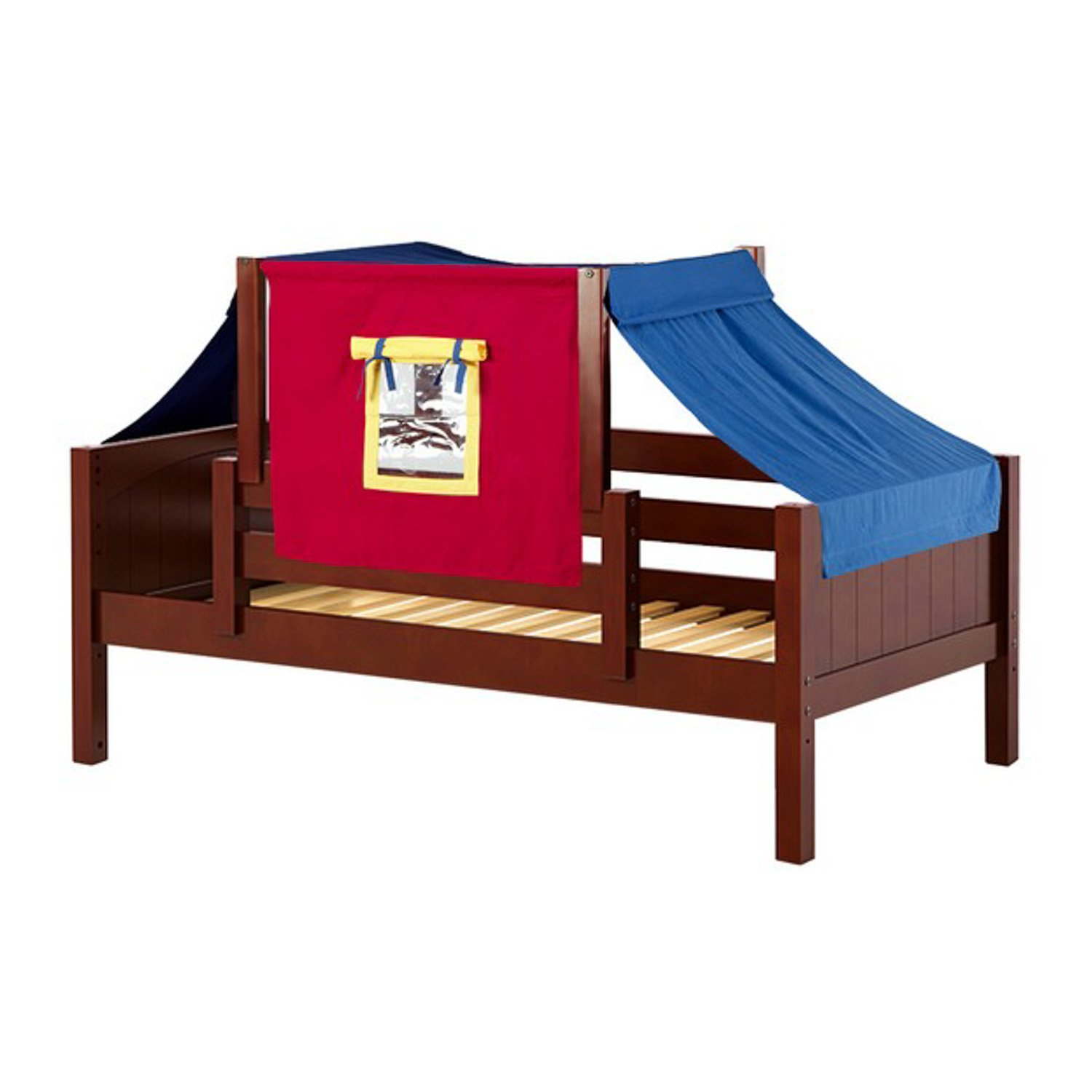 Amazon.com: Maxtrix Solid Hardwood Twin Size Toddler Daybed with