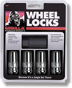 Gorilla Automotive 76641N Duplex Acorn Wheel Locks (14mm x 1.50 Thread Size) - Pack of 4
