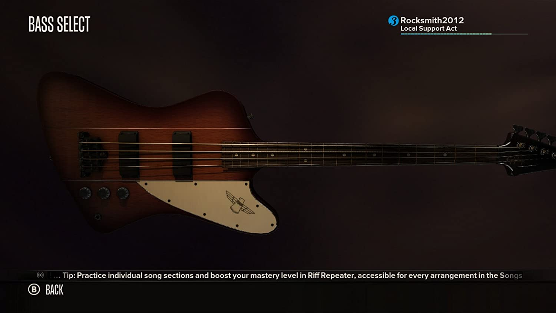 Amazon Rocksmith Guitar And Bass Xbox 360 Video Games