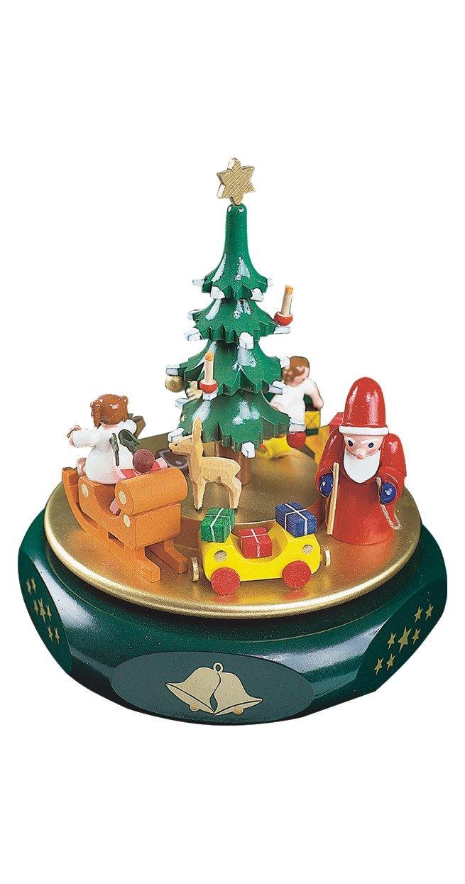 Richard Glässer Spieldose Weihnachtsträume Erzgebirge