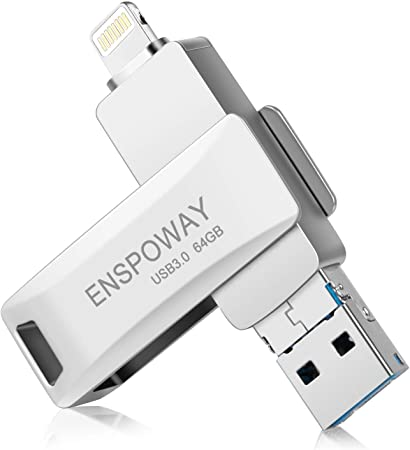 Usb Stick For Iphone Enspoway Usb Stick 64gb Key Fob Computers Accessories