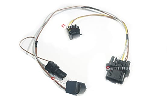61UxevPG0vL._SX554_ amazon com sentinel parts b360 99 03 mercedes w210 headlight wire OEM Wiring Harness Connectors at fashall.co