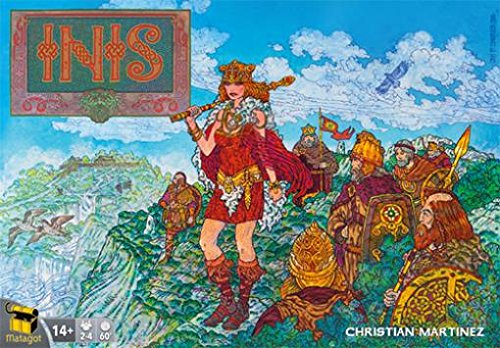 Inis Board Game Board Game (4 Players) by Asmodee