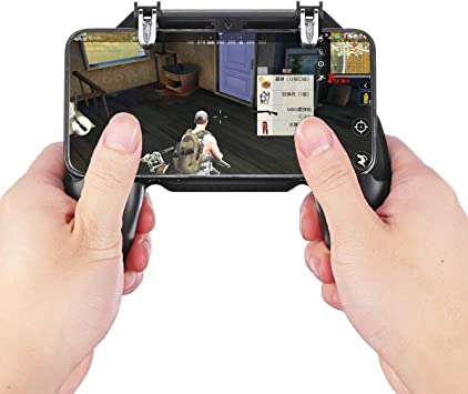 Generic Gamepad Joystick Fire Trigger Shooter Button Game Controller for PUBG Mobile Game for Smartphone: Amazon.es: Electrónica